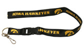 Iowa Hawkeyes Breakaway Lanyard with Key Ring