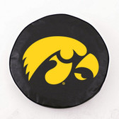 Iowa Hawkeyes Black Tire Cover, Large
