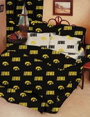 Iowa Hawkeyes Bed in a Bag (Full)