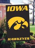 Iowa Hawkeyes Banner Flag