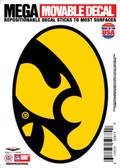 """Iowa Hawkeyes 5""""x7"""" Mega Decal"""