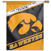 """Iowa Hawkeyes 27""""x37"""" Banner"""