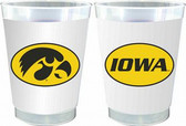 Iowa Hawkeyes 10 oz. Frosted Cups