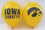 """Iowa Hawkeyes 11"""" Balloons"""