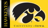 Iowa Hawkeyes   2-Sided 3 Ft. x 5 Ft. Flag w/Grommets