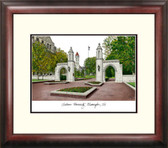 Indiana University, Bloomington Alumnus Framed Lithograph