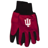 Indiana Hoosiers Two Tone Gloves - Adult