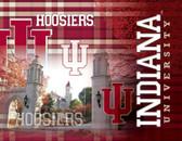 Indiana Hoosiers Printed Canvas