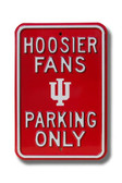 Indiana Hoosiers Parking Sign