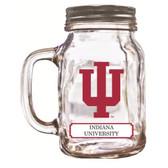 Indiana Hoosiers Mason Jar