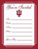 Indiana Hoosiers Formal Invitations