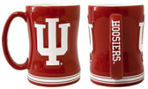 Indiana Hoosiers Coffee Mug - 15oz Sculpted