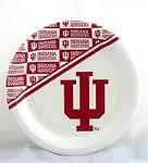 "Indiana Hoosiers 7"" Dessert Paper Plates"