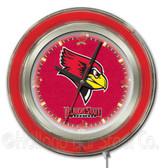 Illinois State Redbirds Neon Clock