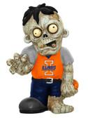 Illinois Fighting Illini Zombie Figurine