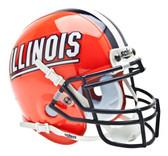 Illinois Fighting Illini Schutt Mini Helmet
