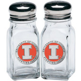 Illinois Fighting Illini Salt and Pepper Shaker Set
