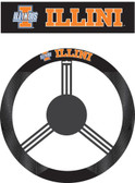 Illinois Fighting Illini Poly-Suede Steering Wheel Cover