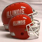 Illinois Fighting Illini Micro Helmet