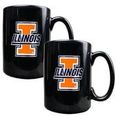 Illinois Fighting Illini Coffee Mug Set