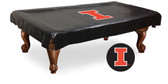 Illinois Fighting Illini Billiard Table Cover
