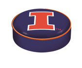 Illinois Fighting Illini Bar Stool Seat Cover