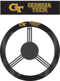 Georgia Tech Yellow Jackets Poly-Suede Steering Wheel Cover