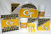Georgia Tech Yellow Jackets Party Supplies Pack #1
