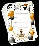 Georgia Tech Yellow Jackets Party Invitations
