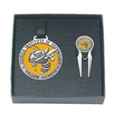 Georgia Tech Yellow Jackets Mascot Logo Golf Gift Set