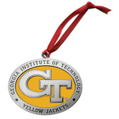 Georgia Tech Yellow Jackets Logo Ornament