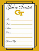Georgia Tech Yellow Jackets Formal Invitations