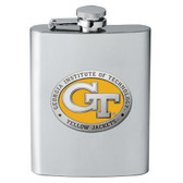 Georgia Tech Yellow Jackets Flask