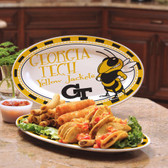 Georgia Tech Yellow Jackets Ceramic Plate