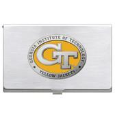 Georgia Tech Yellow Jackets Business Card Case Set BCA10463EY