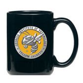 Georgia Tech Yellow Jackets Black Mascot Coffee Mug Set