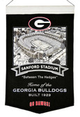 Georgia Bulldogs Wool Stadium Banner - Sanford Stadium