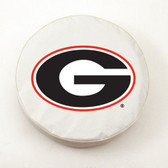 Georgia Bulldogs White Tire Cover, Large TCWTGeorgiaGLG