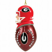 Georgia Bulldogs Tackler Ornament