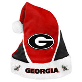 Georgia Bulldogs Santa Hat - Colorblock 2014