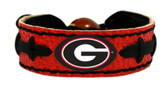 Georgia Bulldogs Power G Team Color Football Bracelet