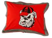 Georgia Bulldogs Pillow Sham