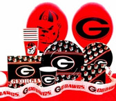 Georgia Bulldogs Party Pack #5