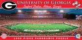 Georgia Bulldogs Panoramic Stadium Puzzle