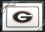 Georgia Bulldogs Note Cards