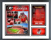 Georgia Bulldogs Milestones & Memories Framed Photo