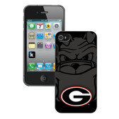 Georgia Bulldogs iPhone 4/4S Case