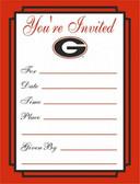 Georgia Bulldogs Formal Invitations