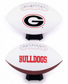 Georgia Bulldogs Full Size Embroidered Football