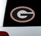 Georgia Bulldogs Die-Cut Window Film - Large